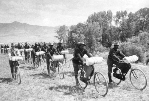 US 25th Infantry on bicycles